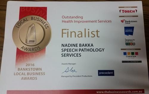 bus awards finalist